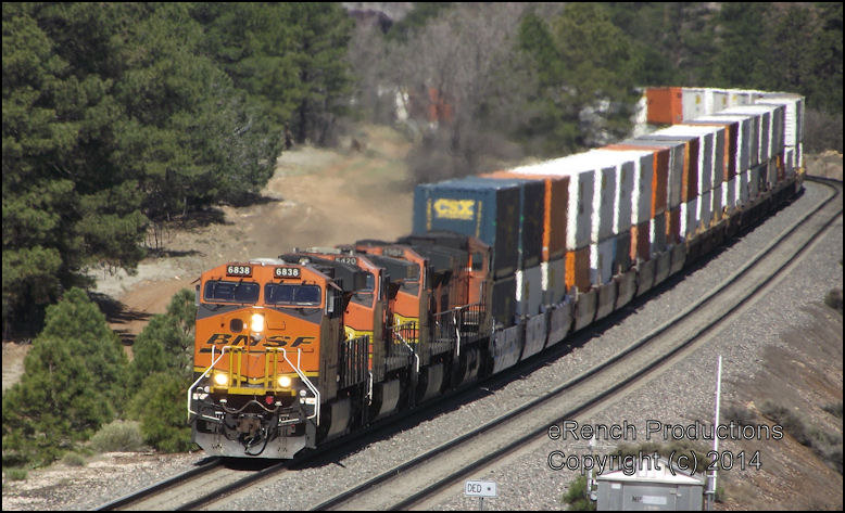 Flagstaff raifanning BNSF Seligman Subdivision