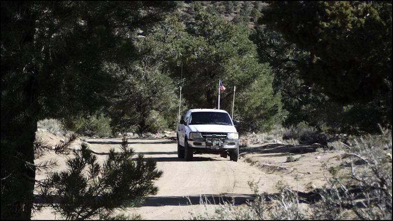 March trip to Saline Valley, in California desert