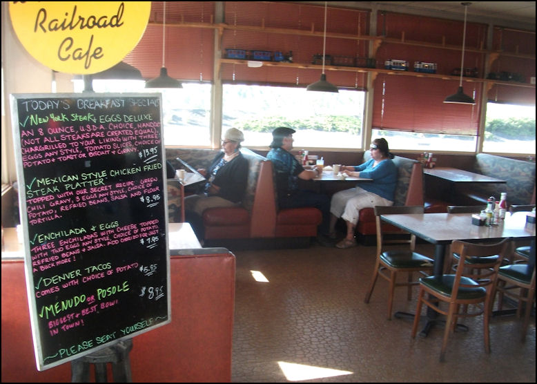 The Crown Railroad Cafe Menu Flagstaff Az