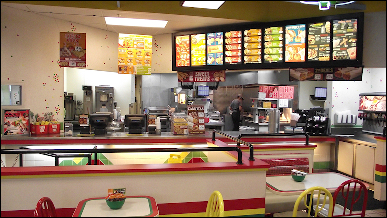 Great Photo: Yes, The #762 Location Is A Cookie Cutter Of Nearly Every Del Taco  Location, As It Features Spacious, Modern, Clean Dining, An Open Kitchen,  ...
