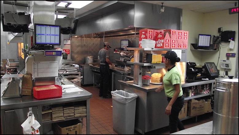 Photo: Del Taco #762 Features An Open Kitchen, Where You Can Watch The  Staff In Action. Unlike Other Fast Food Restaurant Chains, Del Taco Doesnu0027t  Seem To ...