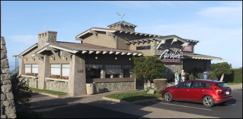 Photo Cavalier Restaurant Is Located Adjacent To Oceanfront Resort In San Simeon Ca Unlike Many Other Hotel Restaurants Serves
