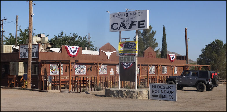 Review Of Slash X Cafe Barstow Ca