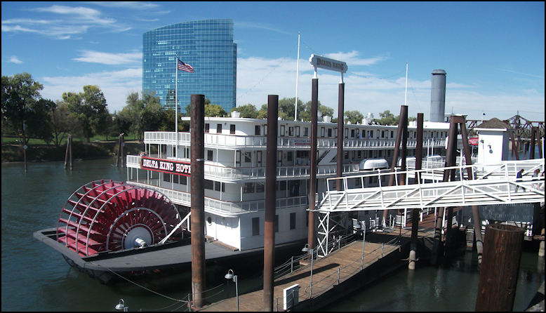 Today The Ship Is Permantly Docked At Old Sacramento And Serves As A Full Service Hotel More Importantly Includes Pilothouse Restaurant