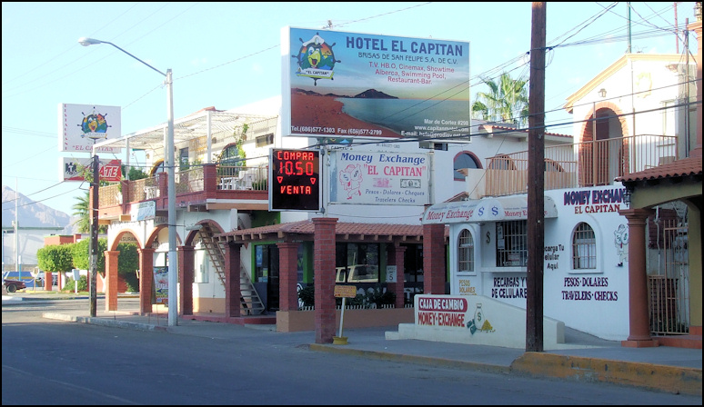 Mar De Cortez Hotel El Capitan Is Within Walking Distance Of Everything That San Felipe Has To Offer